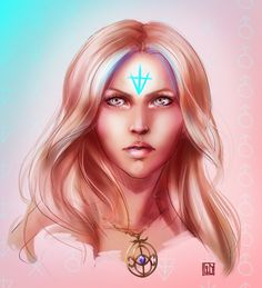 Aelin. credit to artist