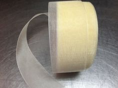Ivory Sheer  Ribbon 25 yards
