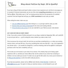 FatCow Review – A Personal Opinionated Review of Hosting and Domain Services: http://www.reneefischerreviews.com/fatcow-review-a-personal-opinionated-review-of-hosting-and-domain-services/  #reneefischer