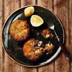 Yotam Ottolenghi's Lentil recipes - sweet potato and puy lentil croquettes. Yotam Ottolenghi, Ottolenghi Recipes, Vegetarian Cooking, Vegetarian Recipes, Cooking Recipes, Healthy Recipes, Budget Cooking, Puy Lentil Recipes, Vegetable Recipes