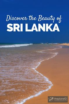 Beautiful beaches on the west coast of Sri Lanka >> Discover the beauty of Sri Lanka with these Photos | The Planet D Adventure Travel Blog | We have a soft spot for Sri Lanka, it is often at the top of our list of places we recommend to visit. We hope that after viewing these photos, you will feel the same way