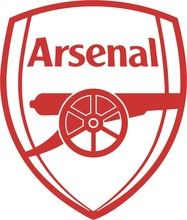 Arsenal FC vinyl wall decal sticker crest badge #1