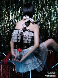 Tian Yi for Harper's Bazaar China June 2014