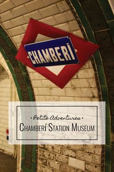 Step back in time and explore 1920s Madrid at Chamberí Station Museum [PetiteAdventures.org]  Madrid | Spain | Travel | Wanderlust