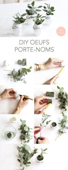 EASY EASTER DIY to decorate your easter table. DIY très facile pour décorer votre table de Pâques. Plus de DIY sur www.idoitmyself.be