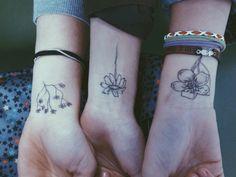 amigas floridas