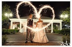 Zelo Photography - Sparklers At A Wedding