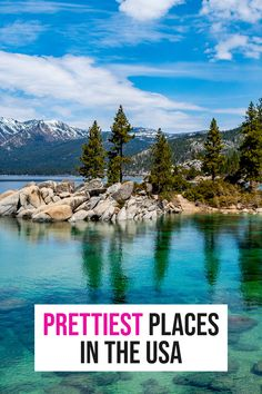 From islands to small towns, big cities to National Parks - these are the prettiest places in the USA you have to see! Small Places, Road Trip Usa, United States Travel, Wanderlust Travel, Small Towns, Cool Places To Visit, Adventure Travel, Travel Inspiration, Islands