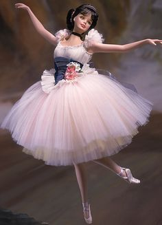 Lighter than Air Barbie doll - Inspired by the paintings of Edgar Degas, Barbie is a beautiful ballerina made of fine bisque porcelain. Description from pinterest.com. I searched for this on bing.com/images