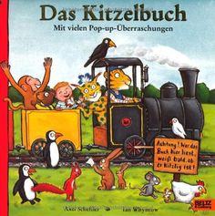Das Kitzelbuch: Pop-up-Bilderbuch: Mit vielen Pop-up-Überraschungen (Beltz & Gelberg) von Ian Whybrow, http://www.amazon.de/dp/3407792670/ref=cm_sw_r_pi_dp_xItrsb01VX313