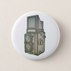Vintage camera button - antique gifts stylish cool diy custom