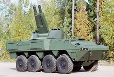 Patria AMV AMOS (Advanced Mortar System) 120 mm - Finnish Army