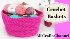 Learn to Crochet a Basket for Earth Day