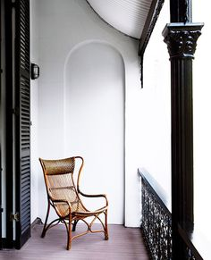 arched architectural detail on balcony wall. / sfgirlbybay
