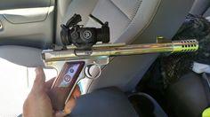 Bilderesultat for ruger mk I trigger guard mount tactical red dot sight