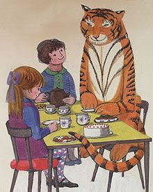 The Tiger who came to tea - by Judith Kerr
