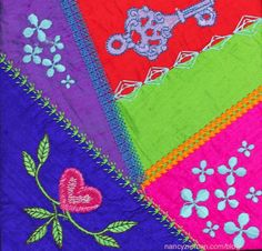 Crazy quilting with your embroidery machine is an ideal way of using fabric scraps to create stunning quilting blocks. Watch Sewing Sewing Nancy with guest Eileen Roche to learn more.