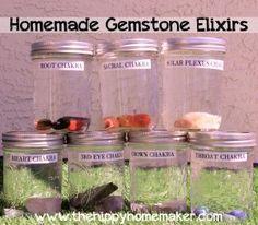 Capture the Vibes of Mother Earth - Homemade Gemstone Elixirs Hybrid Rasta Mama