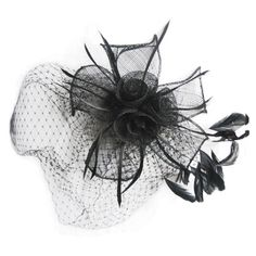 feathered fascinator