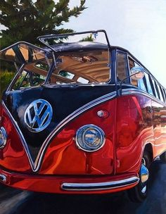(1957 VW Bus Painting)