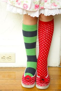 Finally.. someone else who wears mis-matched socks. :)