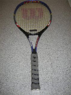 WILSON COURT ZONE TENNIS RACQUET WITH OVER SIZE HEAD & POWER CONTROL COMFORT #Wilson