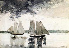 HOMER, Winslow, (1836-1910) American artist: --  '