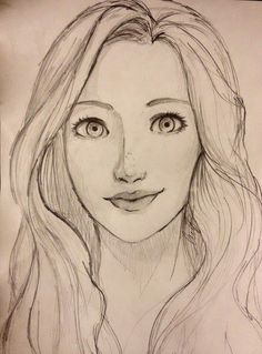 Search result for easy portrait drawing