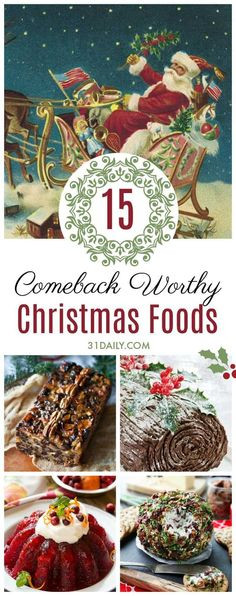 Nov 7, 2020 - Do you ever feel nostalgic for the Christmases of yesteryear? A kind-hearted andsimpler time? Us too. With that in mind, we've gathered 15 Retro Christmas Foods Deserving of a Comeback with updated recipes to try Holiday Snacks, Christmas Appetizers, Christmas Sweets, Christmas Cooking, Retro Christmas, Christmas Goodies, Christmas Time, Christmas Ideas, Christmas Traditions