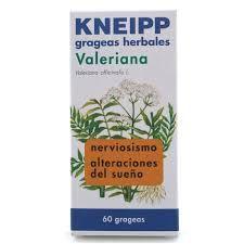163579 Valeriana Kneipp - 60 grageas