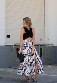 Ms Treinta - Fashion blogger - Blog de moda y tendencias by Alba.: TOP CRUZADO