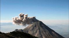 Mexico Volcán de Colima mantiene intensa actividad