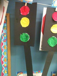 Traffic lights for our transportation unit
