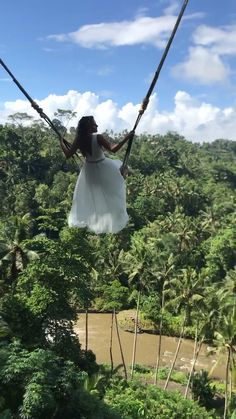 At Bali swing over the jungle in Ubud. Travel Photography Tumblr, Photography Beach, Nature Photography, Photography Ideas, Wanderlust Travel, Bali Travel, Beautiful Places To Travel, Cool Places To Visit, Places To Go