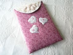 Cotton paws and hearts cat lovers Kindle case, made of pretty pink fabric and held closed with a helping paw. The internal measurements of the case are inches x inches x (approximately) it will fit a Kindle Fire HD and any device. Kindle Case, Gift Wrapping Services, Pink Fabric, Pretty In Pink, Christmas Stockings, Cat Lovers, Hearts, Holiday Decor, Cotton