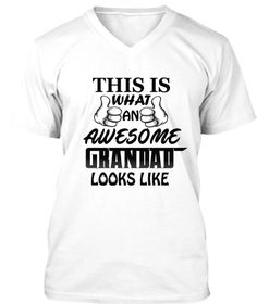Grandparent Shirts-Grandad National Grandparents Day ***AWESOME SUPER GRANDAD GRANDPA DAD T SHIRT FATHERS DAY BIRTHDAY GIFT TOP TEE COOL*** #GrandparentsDay2016 #BestGrandparentsTshirt #AwesomeGrandparentsTShirt