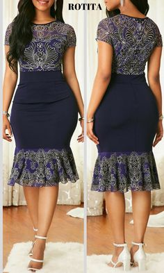 With new styles added each morning,you will discover fabulou finds for you,your family, Short African Dresses, Latest African Fashion Dresses, African Print Fashion, Women's Fashion Dresses, African Dress Styles, Lace Dress Styles, Trendy Clothes For Women, African Attire, African Traditional Dresses