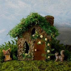 Fairy House Fairy Garden Miniature Fairy House by enchantedgardens