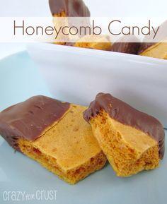 honeycomb candy | crazyforcrust.com