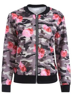 SHARE & Get it FREE | Floral Print Camo Bomber JacketFor Fashion Lovers only:80,000+ Items • New Arrivals Daily • Affordable Casual to Chic for Every Occasion Join Sammydress: Get YOUR $50 NOW!