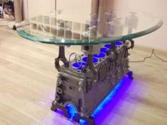 Mercedes Engine Coffee Table