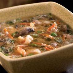 Shrimp and Egg Flower Soup Recipe on Yummly