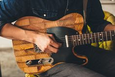Wallace Detroit Guitars are making musical lemonade by using disassembled wood from Detroit's abandoned homes to create upcycled guitars.