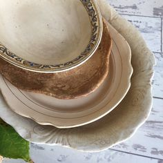 Antique Ironstone Serving Platters  by TheClassicButterfly on Etsy