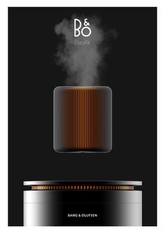 Bang & Olufsen Air Humidifier - Purifier on Behance Web Design, Form Design, Design Trends, Presentation Board Design, Vacuum Cup, Sports Graphic Design, Audio Design, Bang And Olufsen, Air Humidifier
