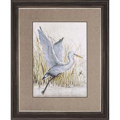 Found it at Wayfair - Heron Sanctuary 2 Piece Framed Painting Print Set