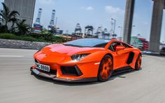 Lamborghini Aventador LP Orange Car Tuning Wallpaper - http://www.gbwallpapers.com/lamborghini-aventador-lp-orange-car-tuning-wallpaper/ (Aventador, Car, Lamborghini, LP, Orange, Tuning, Wallpaper / Cars)