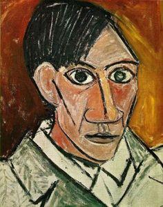 #Picasso a 25 anni. Il periodo del #cubismo è vicino. - Picasso, l'evoluzione dell'artista attraverso gli #autoritratti su l43.it/1oOJbc5