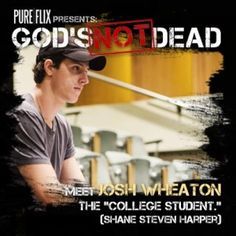"God's Not Dead. Sooooo wanna see this movie. Everyone was freaking about Catching Fire and  Im like "" GOD'S NOT DEAD COMES OUT IN THE SPRING!!!"""