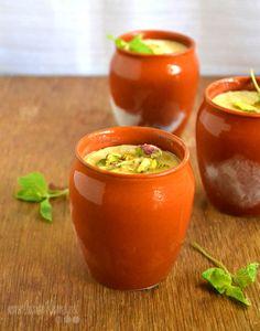 Mango Kulfi Recipe | Mango Recipes  Creamy mango kulfi  (Indian Ice cream) with goodness of mango, saffron and cardamom.